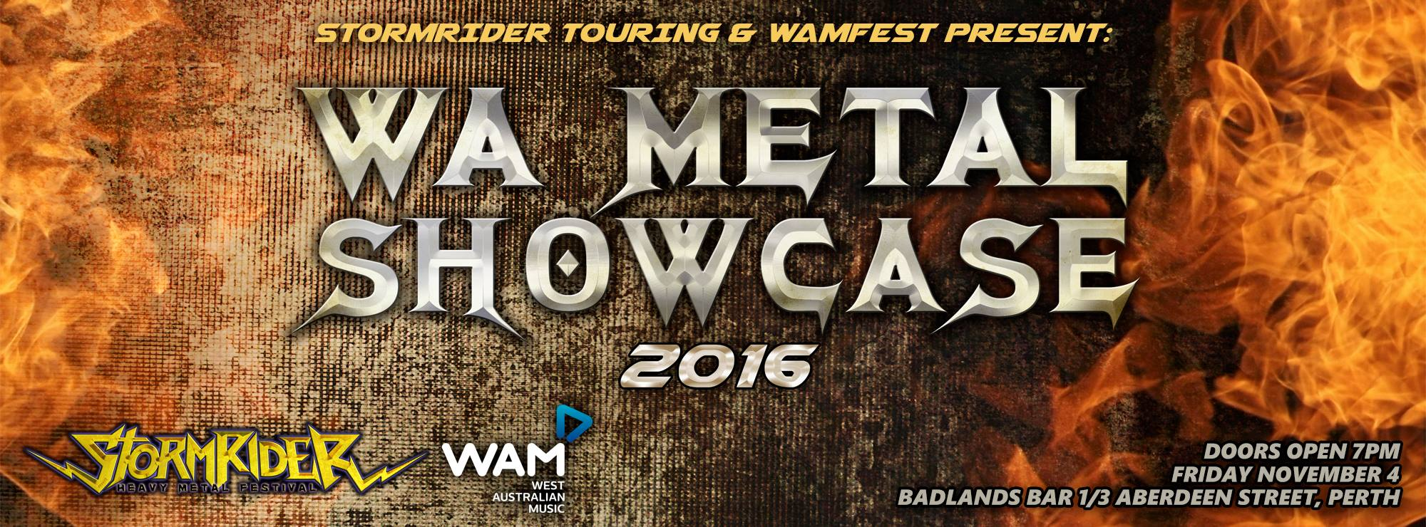 WA Metal Showcase – Claim The Throne, Silent Knight, Earth Rot, Sanzu, Suffer in Rot, Tempest Rising, Remission