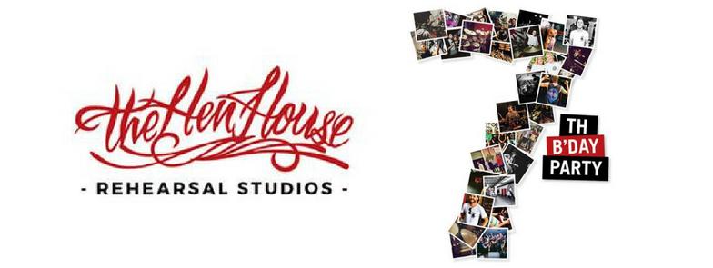 The Hen House Rehearsal Studios 7th Birthday