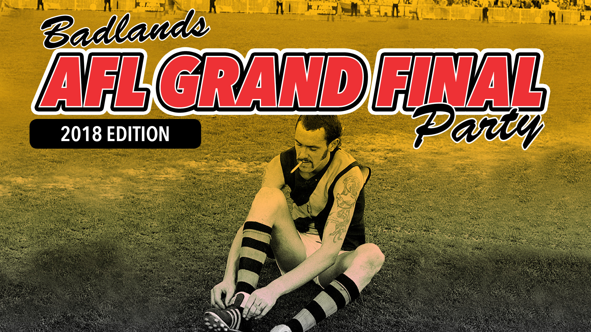AFL Grand Final on the Badlands Big Screen feat. The Little Lord Street Band and Pastel Suburbs