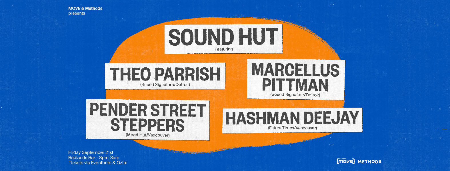 Sound Hut feat. Theo Parrish, Marcellus Pittman and more