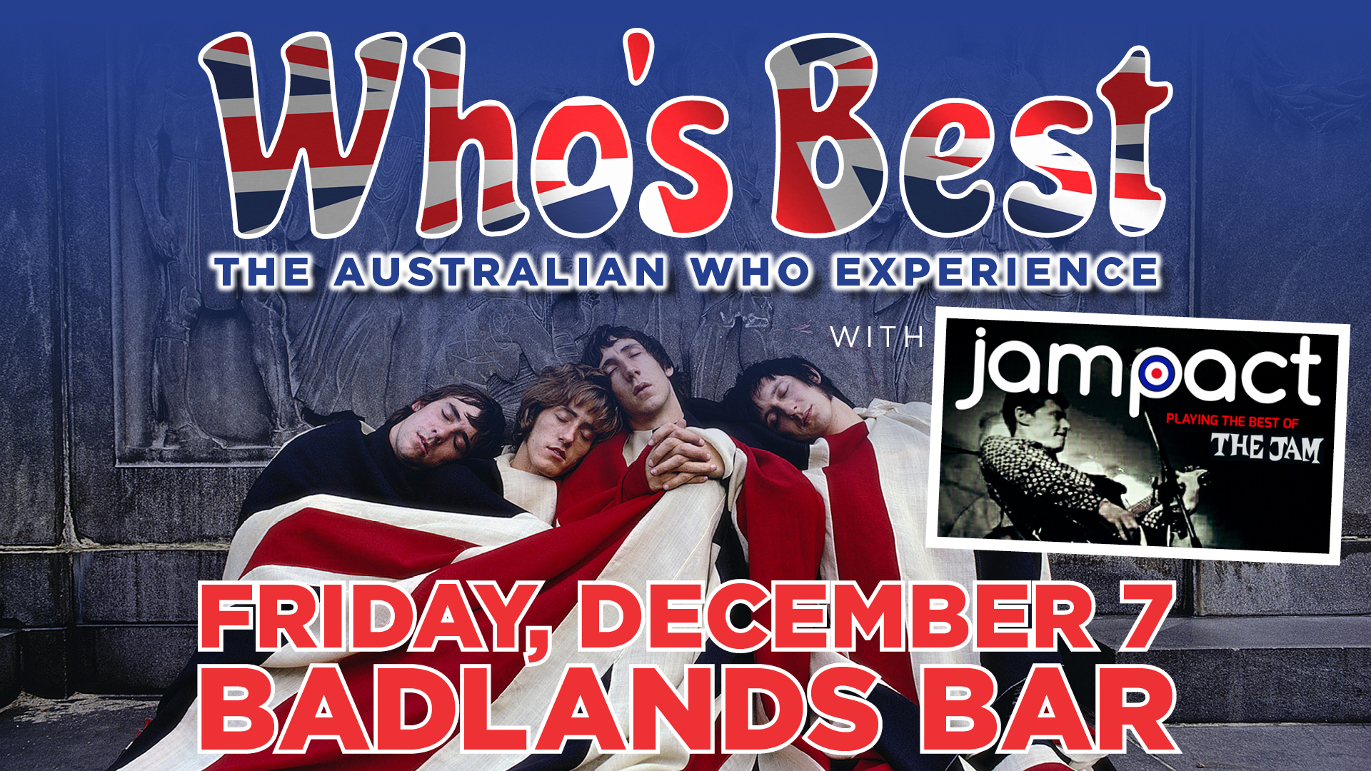Who's Best – The Australian Who Experience, with Jampact (The Jam tribute)