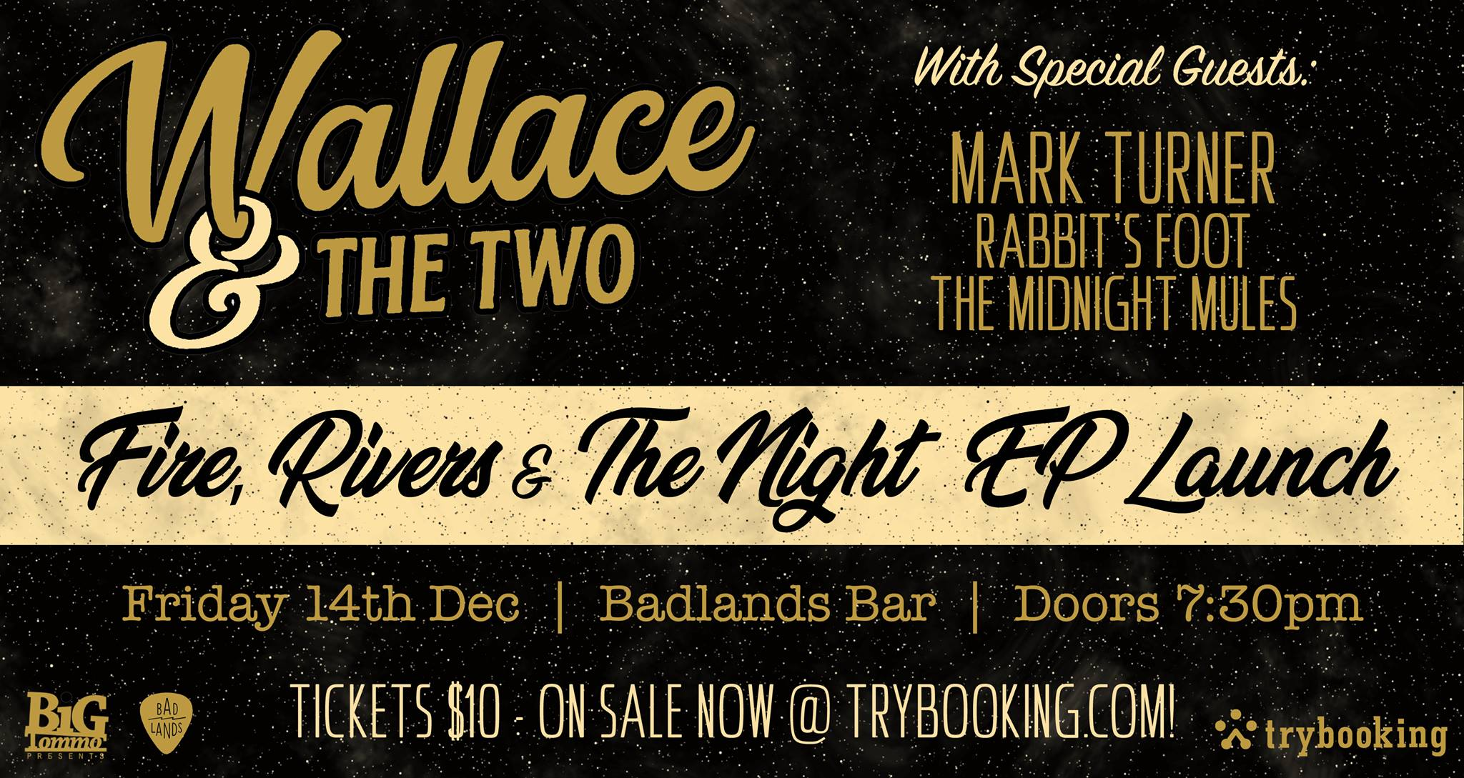 Wallace & The Two EP Launch