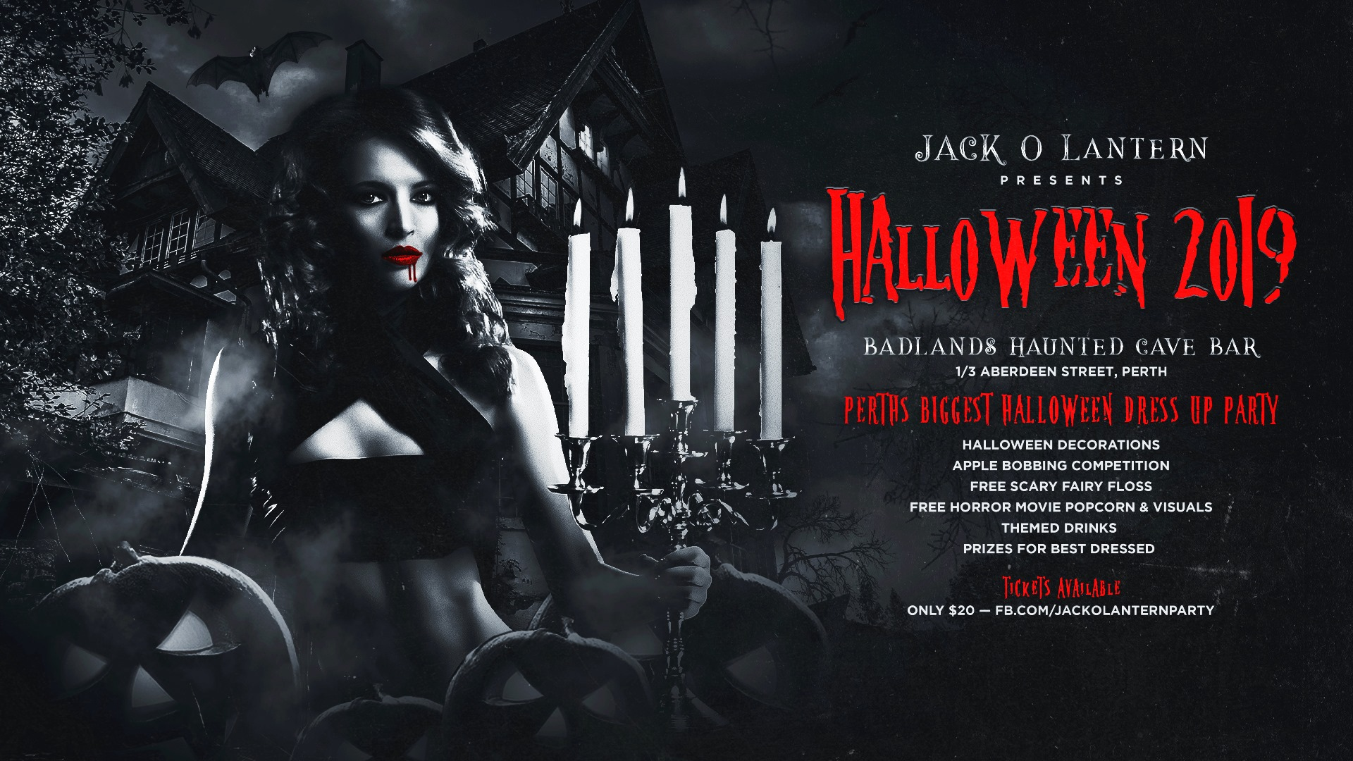 Halloween Perth 2019 Dress Up Party