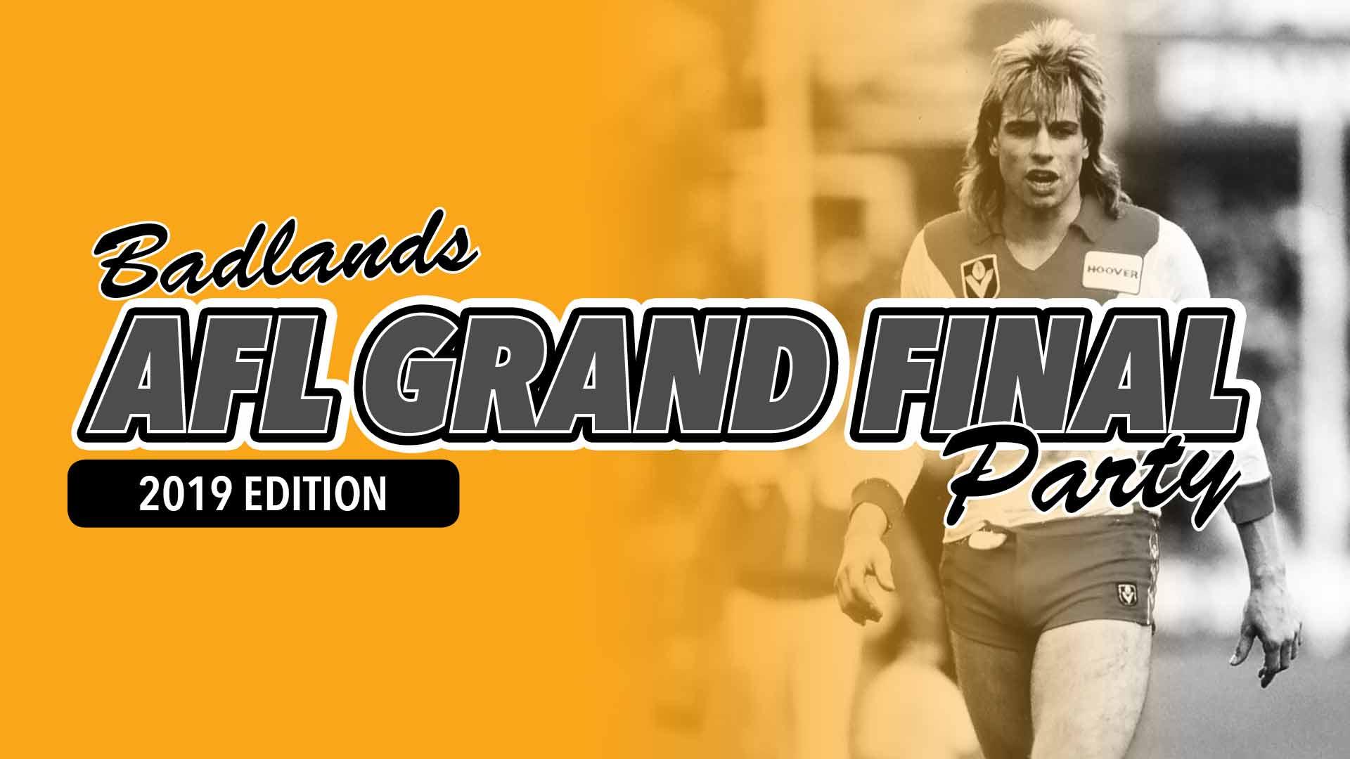 AFL Grand Final on the Badlands MEGA Screen
