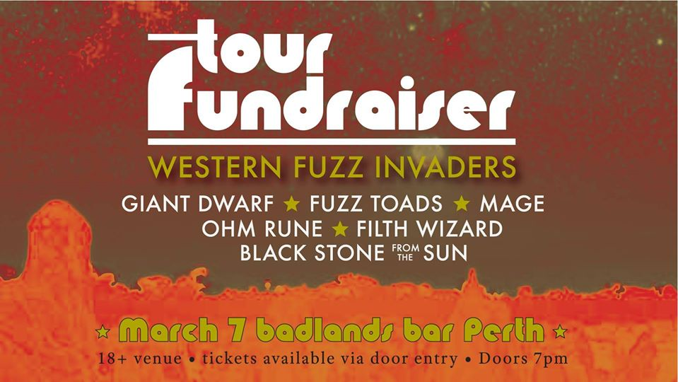 Fuzz Toads, MAGE, Giant Dwarf and more – Tour Fundraiser