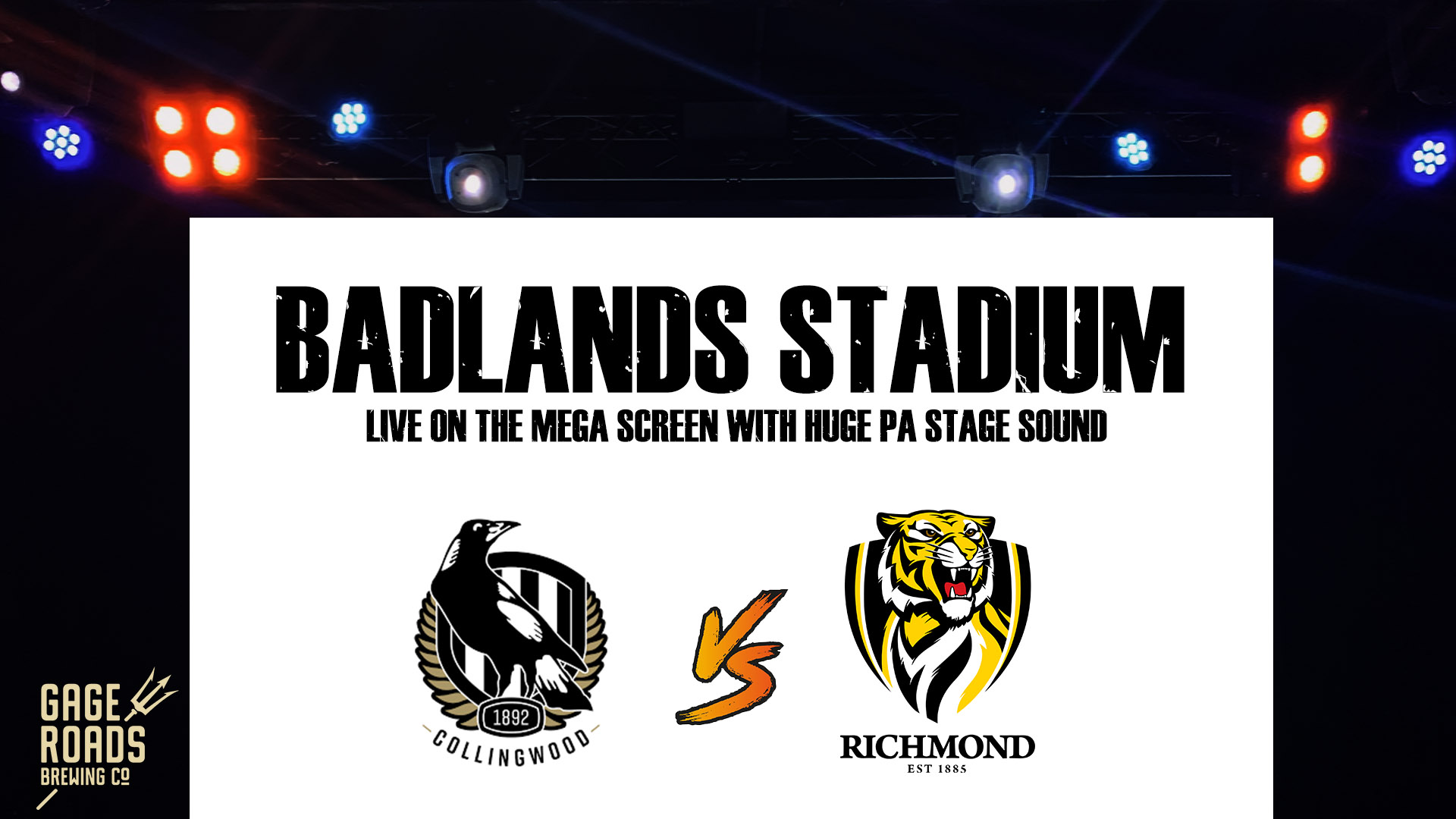 AFL Round 2/ Collingwood V Richmond