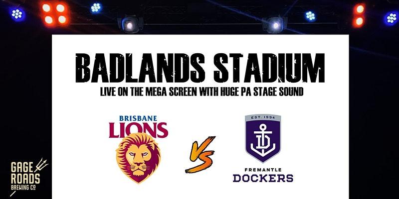 Live AFL – Brisbane v Fremantle