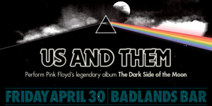 """Us & Them perform Pink Floyd """"Dark Side Of The Moon"""" – second show!"""
